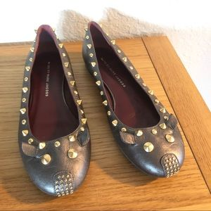 Marc By Marc Jacobs studded mouse blatte flats 7